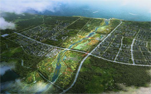 石家河治理景观工程