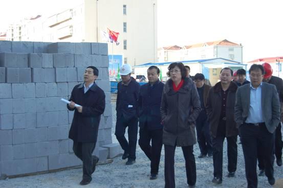 市委副书记、市长张惠视察环翠楼停车楼工程