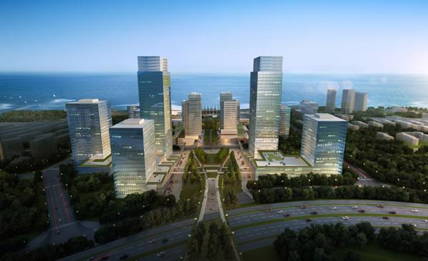 绿轴商务金融中心工程